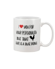 I LOVE YOU FOR YOUR PERSONALITY Mug front