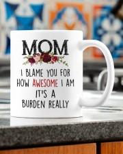 IT'S A BURDEN REALLY Mug ceramic-mug-lifestyle-57