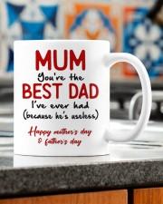 MUM YOU'RE THE BEST DAD I'VE EVER HAD  Mug ceramic-mug-lifestyle-57