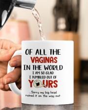 I TUMBLED OUT OF YOURS Mug ceramic-mug-lifestyle-65