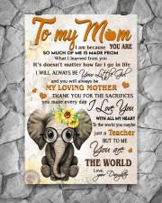 TO MY MOM - TEACHER 24x36 Poster aos-poster-portrait-24x36-lifestyle-13