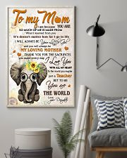 TO MY MOM - TEACHER 24x36 Poster lifestyle-poster-1