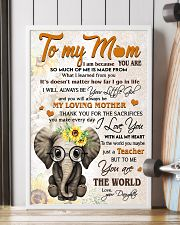 TO MY MOM - TEACHER 24x36 Poster lifestyle-poster-4