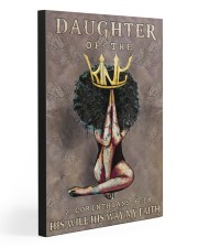 DAUGHTER OF THE KING  20x30 Gallery Wrapped Canvas Prints front