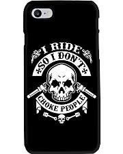 I RIDE SO I DON'T CHOKE PEOPLE - MB324 Phone Case thumbnail