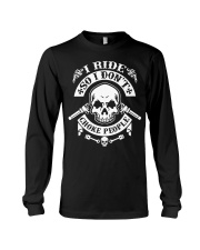 I RIDE SO I DON'T CHOKE PEOPLE - MB324 Long Sleeve Tee thumbnail