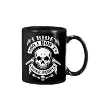 I RIDE SO I DON'T CHOKE PEOPLE - MB324 Mug thumbnail