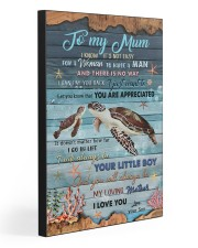 TO MY MUM 20x30 Gallery Wrapped Canvas Prints front