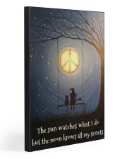 THE MOON KNOWS ALL MY SECRETS 20x30 Gallery Wrapped Canvas Prints front