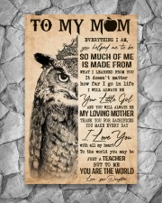 TO MY MOM  24x36 Poster aos-poster-portrait-24x36-lifestyle-13