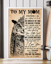 TO MY MOM  24x36 Poster lifestyle-poster-4