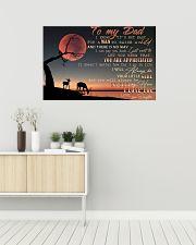 IT'S NOT EASY FOR A MAN TO RAISE A CHILD - MB269 36x24 Poster poster-landscape-36x24-lifestyle-01