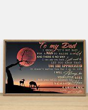 IT'S NOT EASY FOR A MAN TO RAISE A CHILD - MB269 36x24 Poster poster-landscape-36x24-lifestyle-03