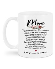 I LOVE YOU MOM FOR BEING YOU Mug back