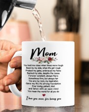 I LOVE YOU MOM FOR BEING YOU Mug ceramic-mug-lifestyle-65