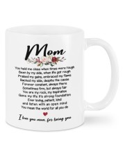 I LOVE YOU MOM FOR BEING YOU Mug front