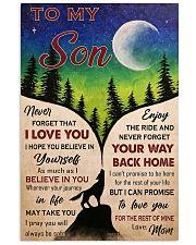 TO MY SON  11x17 Poster thumbnail