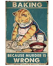 MURDER IS WRONG Vertical Poster tile