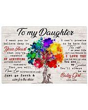 TO MY DAUGHTER - MB376 Horizontal Poster tile