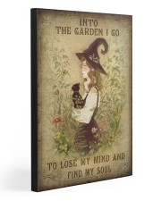 INTO THE GARDEN I GO  20x30 Gallery Wrapped Canvas Prints front