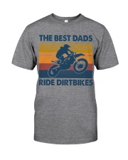 BEST DAD RIDE DIRTBIKES - MB320 Classic T-Shirt front