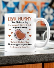 LOVE FROM YOUR LIL HUMAN BEAN Mug ceramic-mug-lifestyle-57