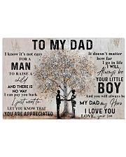 TO MY DAD - MB107 24x16 Poster front