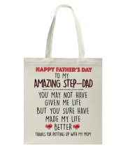 TO MY AMAZING STEPDAD - MB116 Tote Bag thumbnail