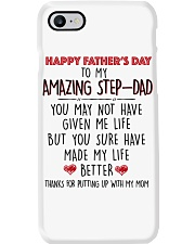 TO MY AMAZING STEPDAD - MB116 Phone Case tile