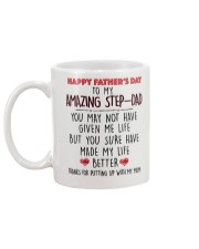 TO MY AMAZING STEPDAD - MB116 Mug back