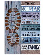 TO MY BONUS DAD - MB251 24x36 Poster front