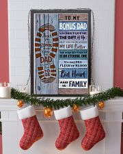 TO MY BONUS DAD - MB251 24x36 Poster lifestyle-holiday-poster-4