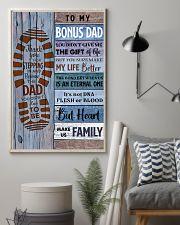 TO MY BONUS DAD - MB251 24x36 Poster lifestyle-poster-1