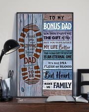 TO MY BONUS DAD - MB251 24x36 Poster lifestyle-poster-2