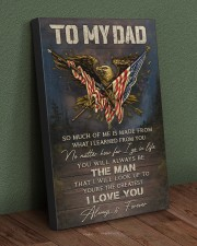 TO MY DAD  20x30 Gallery Wrapped Canvas Prints aos-canvas-pgw-20x30-lifestyle-front-16