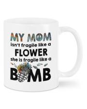 MY MOM IS FRAGILE LIKE A BOMB Mug front