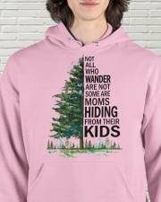 HIDING FROM THEIR KIDS Hooded Sweatshirt apparel-hooded-sweatshirt-lifestyle-front-57