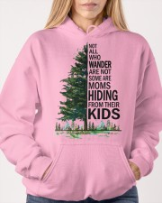 HIDING FROM THEIR KIDS Hooded Sweatshirt apparel-hooded-sweatshirt-lifestyle-front-85