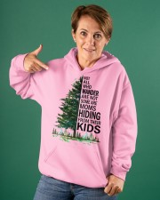 HIDING FROM THEIR KIDS Hooded Sweatshirt apparel-hooded-sweatshirt-lifestyle-front-88