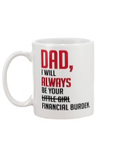 YOUR FINANCIAL BURDEN Mug back