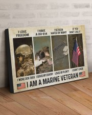 I AM A MARINE VETERAN 30x20 Gallery Wrapped Canvas Prints aos-canvas-pgw-30x20-lifestyle-front-07