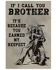 IF I CALL YOU BROTHER  Vertical Poster tile