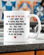 DEAR LOVE OF MY LIFE Mug ceramic-mug-lifestyle-57