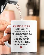 DEAR LOVE OF MY LIFE Mug ceramic-mug-lifestyle-65