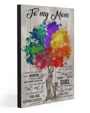 TO MY MOM   20x30 Gallery Wrapped Canvas Prints front