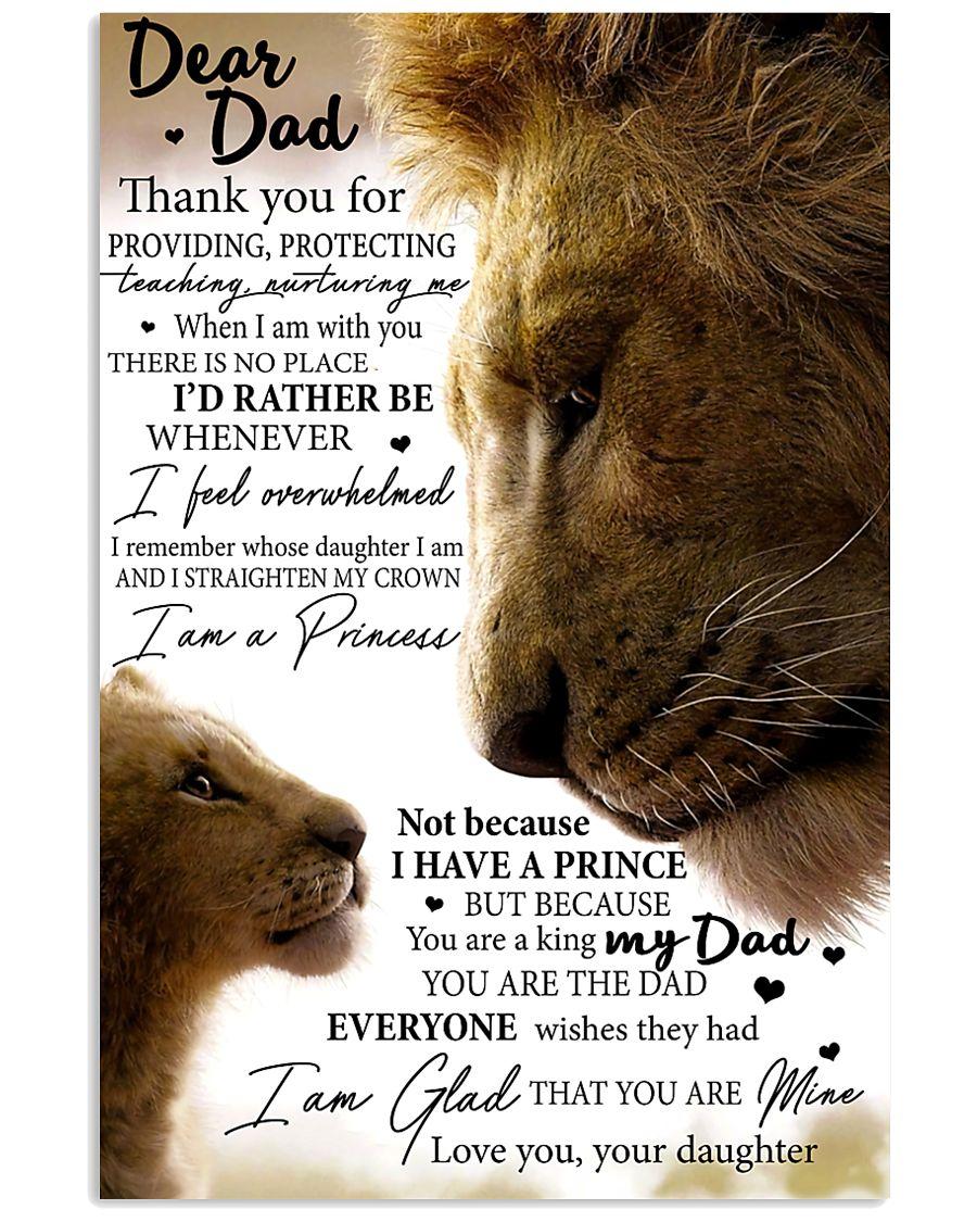 DEAR DAD - MB177 11x17 Poster
