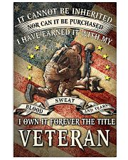 I OWN IT FOREVER THE TITLE VETERAN 16x24 Poster front