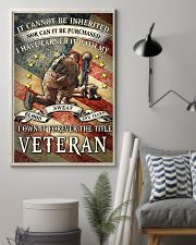I OWN IT FOREVER THE TITLE VETERAN 16x24 Poster lifestyle-poster-1