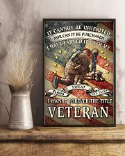I OWN IT FOREVER THE TITLE VETERAN 16x24 Poster lifestyle-poster-3