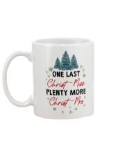 ONE LAST CHRIST-MISS Mug back